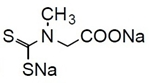 DTCS Na DTCS Na, N-(Dithiocarboxy)sarcosine, disodium salt, dihydrate [CAS: 13442-87-0]