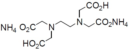 2NH4(EDTA 2NH4) 2NH4(EDTA 2NH4), Ethylenediamine-N,N,N',N'-tetraacetic acid, diammonium salt [CAS: 20824-56-0]