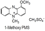 1-Methoxy PMS 1-Methoxy PMS, 1-Methoxy-5-methylphenazinium methylsulfate [CAS: 65162-13-2]